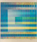 Prints & Multiples:Print, Yaacov Agam (b. 1928). Intense Prayer, Fertility, and Black Hole (three works). Agamographs. 16 x 15 inches (40.6 x 38.1... (Total: 3 Items)