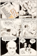 Original Comic Art:Panel Pages, Frank Frazetta Personal Love #24 Story Page 7 Original Art (Eastern Color, 1953)....