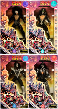 """Toys:Action Figures, Kiss Destroyer 24"""" Figures Complete Set of 4 (Art-Asylum/FUN4ALL/Spencer Gifts, 1998).... (Total: 4 Items)"""