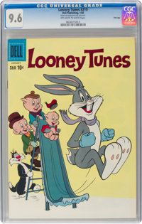 Looney Tunes and Merrie Melodies Comics #219 File Copy (Dell, 1960) CGC NM+ 9.6 Off-white to white pages