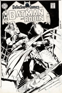 Neal Adams Detective Comics #399 Cover Original Art (DC, 1970)