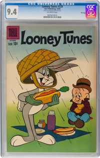 Looney Tunes and Merrie Melodies Comics #228 File Copy (Dell, 1960) CGC NM 9.4 Off-white pages