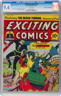 Golden Age (1938-1955):Superhero, Exciting Comics #21 Mile High Pedigree (Nedor, 1942) CGC NM 9.4 White pages....