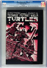 Teenage Mutant Ninja Turtles #1 (Mirage Studios, 1984) CGC NM 9.4 White pages