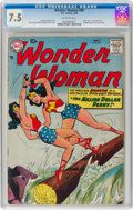 Silver Age (1956-1969):Superhero, Wonder Woman #98 (DC, 1958) CGC VF- 7.5 Off-white pages....