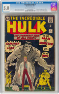 Silver Age (1956-1969):Superhero, The Incredible Hulk #1 (Marvel, 1962) CGC VG/FN 5.0 Cream to off-white pages....