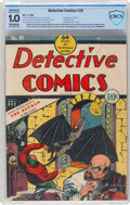 Golden Age (1938-1955):Superhero, Detective Comics #29 Incomplete (DC, 1939) CBCS Restored FR 1.0 Moderate to Extensive (A) Off-white pages....