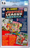 Silver Age (1956-1969):Superhero, Justice League of America #39 Pacific Coast Pedigree (DC, 1965) CGCNM+ 9.6 Off-white to white pages....