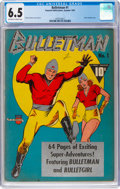 Golden Age (1938-1955):Superhero, Bulletman #1 (Fawcett Publications, 1941) CGC FN+ 6.5 Off-white to white pages....