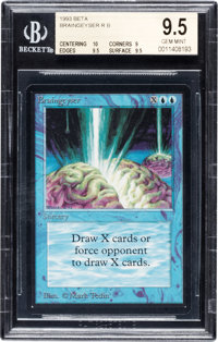 Magic: The Gathering Braingeyser Beta Edition BGS 9.5 (Wizards of the Coast, 1993)