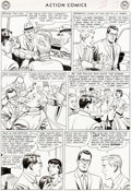 Original Comic Art:Panel Pages, Al Plastino Action Comics #289 Story Page 13 Original Art (DC, 1962)....