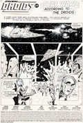 Original Comic Art:Panel Pages, Ernie Colon and Marie Severin The Droids #6 Story Page 1 Original Art (Marvel, 1986)....