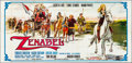 """Movie Posters:Foreign, Zenabel (I.C.A.R., 1969). Folded, Very Fine-. Horizontal Italian 6 Panel (161.5"""" X 77.25""""). Foreign.. ..."""