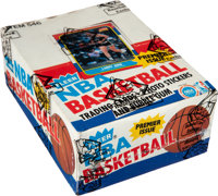 1986-87 Fleer Basketball Wax Box with 36 Unopened Packs
