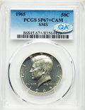 SMS Kennedy Half Dollars, 1965 50C SMS MS67+ Cameo PCGS. PCGS Population: (195/7 and 4/0+). NGC Census: (684/57 and 3/0+). ...