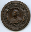 Expositions and Fairs, 1893 World's Columbian Exposition, 1892 Cristoforo Colombo MedalUncertified. Eglit-107. Bronze. 59 mm. bust of Columbus fac...