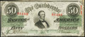 Confederate Notes:1863 Issues, T57 $50 1863 PF-8 Cr. 414 Very Fine-Extremely Fine.. ...