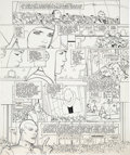 Original Comic Art:Panel Pages, Moebius (Jean Giraud) L'Incal - La cinquième essence: galaxie qui songe [The Incal: The Fifth Essence Part One: The Drea...