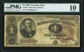 Large Size:Treasury Notes, Fr. 347 $1 1890 Treasury Note PMG Very Good 10.. ...