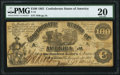 Confederate Notes:1861 Issues, T13 $100 1861 PF-3 Cr. 55 PMG Very Fine 20.. ...