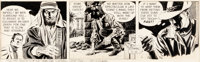 Al Williamson Secret Agent Corrigan Daily Comic Strip Original Art dated 4-16-68 (King Features Syndicate, 1968)