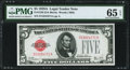 Fr. 1526 $5 1928A Legal Tender Note. PMG Gem Uncirculated 65 EPQ