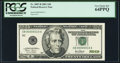 Small Size:Federal Reserve Notes, Low Serial Number 10 Fr. 2087-B $20 2001 Federal Reserve Note. PCGS Very Choice New 64PPQ.. ...