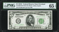 Fr. 1959-D $5 1934C Wide Federal Reserve Note. PMG Gem Uncirculated 65 EPQ