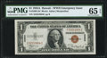 Fr. 2300 $1 1935A Hawaii Silver Certificate. PMG Gem Uncirculated 65 EPQ