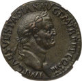 Ancients:Roman Imperial, Ancients: Vespasian (AD 69-79). AE sestertius (31mm, 19.71 gm, 6h). NGC AU★ 5/5 - 5/5, Fine Style....