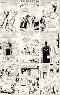 Original Comic Art:Panel Pages, Dave Gibbons Watchmen #11 Story Page 19 Nite Owl and Rorschach Original Art (DC, 1987)....