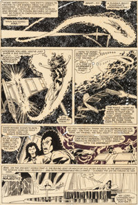 John Byrne and Terry Austin X-Men #135 Story Page 15 Dark Phoenix Original Art (Marvel, 1980)