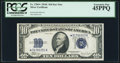 Fr. 1704* $10 1934C Silver Certificate Star. PCGS Extremely Fine 45PPQ