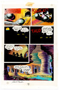Original Comic Art:Miscellaneous, Carl Barks and Peter Ledger Uncle Scrooge McDuck: His Life and Times Signed Production Art Page (Celestial Arts, 1...