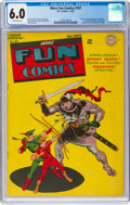 Golden Age (1938-1955):Superhero, More Fun Comics #101 (DC, 1945) CGC FN 6.0 Off-white pages....