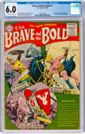 Golden Age (1938-1955):Adventure, The Brave and the Bold #1 (DC, 1955) CGC FN 6.0 Off-white to white pages....