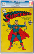 Golden Age (1938-1955):Superhero, Superman #11 (DC, 1941) CGC NM- 9.2 Off-white to white pages....
