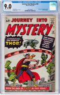 Silver Age (1956-1969):Superhero, Journey Into Mystery #83 (Marvel, 1962) CGC VF/NM 9.0 Off-white towhite pages....