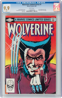 Wolverine #1 (Marvel, 1982) CGC MT 9.9 White pages