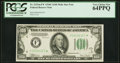 Small Size:Federal Reserve Notes, Fr. 2155-F* $100 1934C Mule Federal Reserve Note. PCGS Very Choice New 64PPQ.. ...