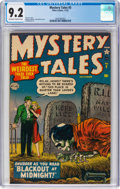 Golden Age (1938-1955):Horror, Mystery Tales #5 (Atlas, 1952) CGC NM- 9.2 Off-white to white pages....