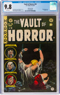Golden Age (1938-1955):Horror, Vault of Horror #39 Gaines File Pedigree 6/12 (EC, 1954) CGC NM/MT 9.8 White pages....