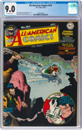 Golden Age (1938-1955):Superhero, All-American Comics #101 (DC, 1948) CGC VF/NM 9.0 Off-white pages....