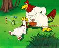 """Animation Art:Limited Edition Cel, """"Let's Play Croquet"""" Foghorn Leghorn Limited Edition Cel SP #4/8 (Warner Brothers, 1991). . ..."""