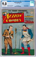 Golden Age (1938-1955):Superhero, Action Comics #127 (DC, 1948) CGC VF/NM 9.0 White pages....