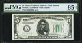 Small Size:Federal Reserve Notes, Fr. 1960-A $5 1934D Federal Reserve Note. PMG Gem Uncirculated 65 EPQ.. ...