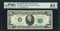 Fr. 2069-L $20 1969B Federal Reserve Note. PMG Choice Uncirculated 64 EPQ