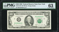 Fr. 2172-B* $100 1988 Federal Reserve Star Note. PMG Choice Uncirculated 63