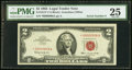 Small Size:Legal Tender Notes, Fr. 1513* $2 1963 Legal Tender Note. PMG Very Fine 25.. ...