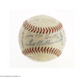 Autographs:Baseballs, 1950 Boston Red Sox Team Signed Baseball....